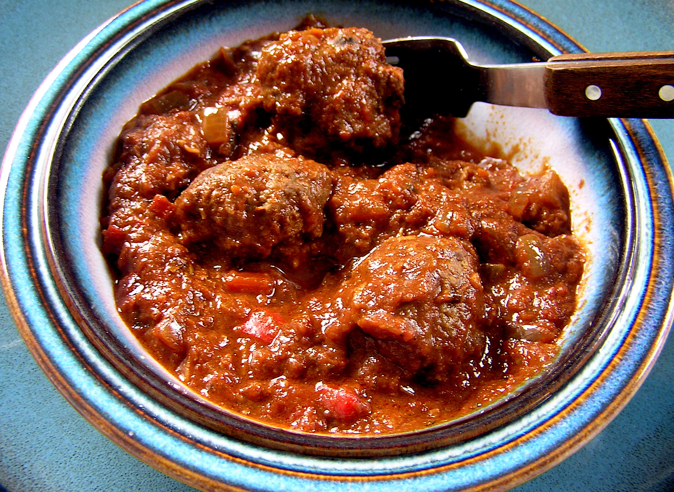 Slow Cooker Beefy Bonfire Meatballs The Zen Of Slow Cooking