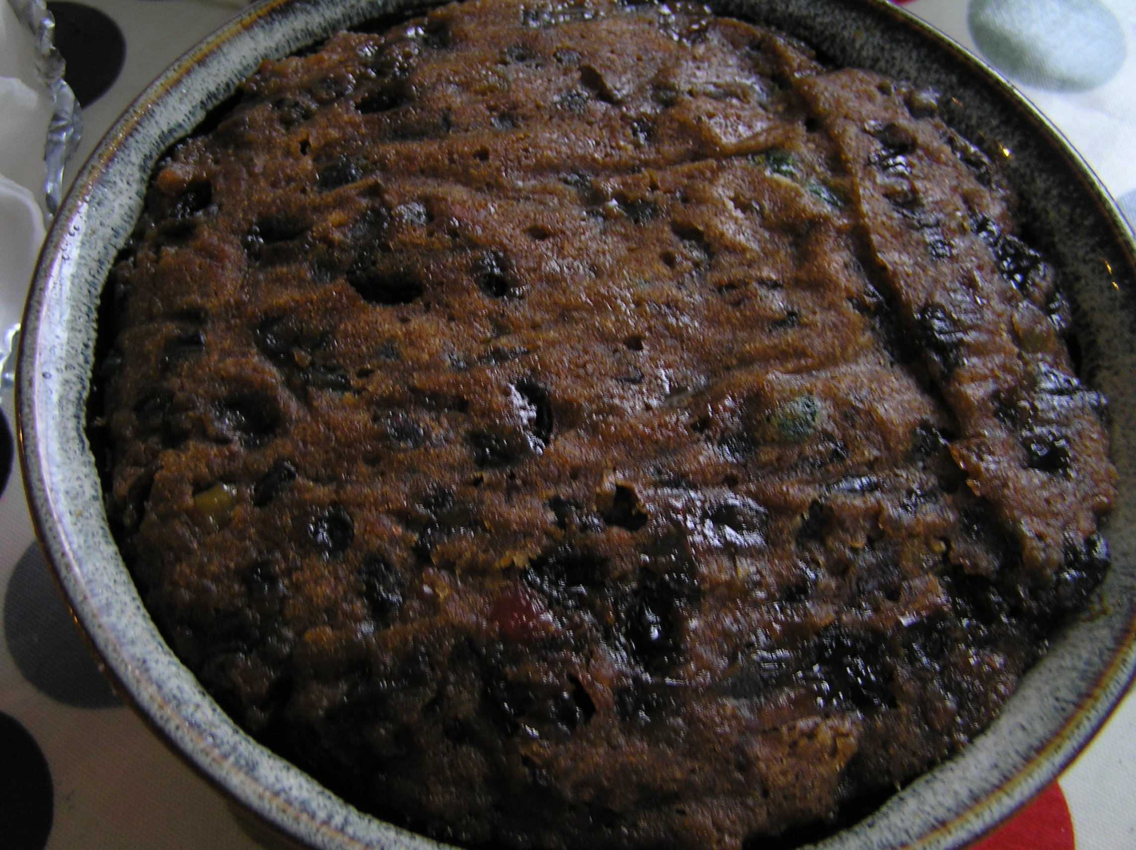 English Christmas Pudding The Zen Of Slow Cooking
